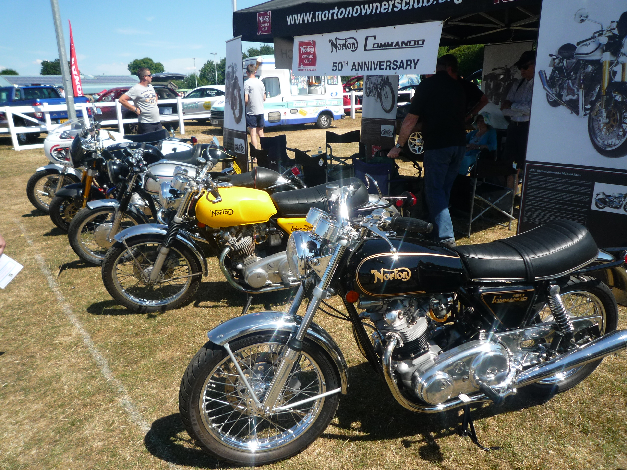 wrc classic car and bike show surrey branch