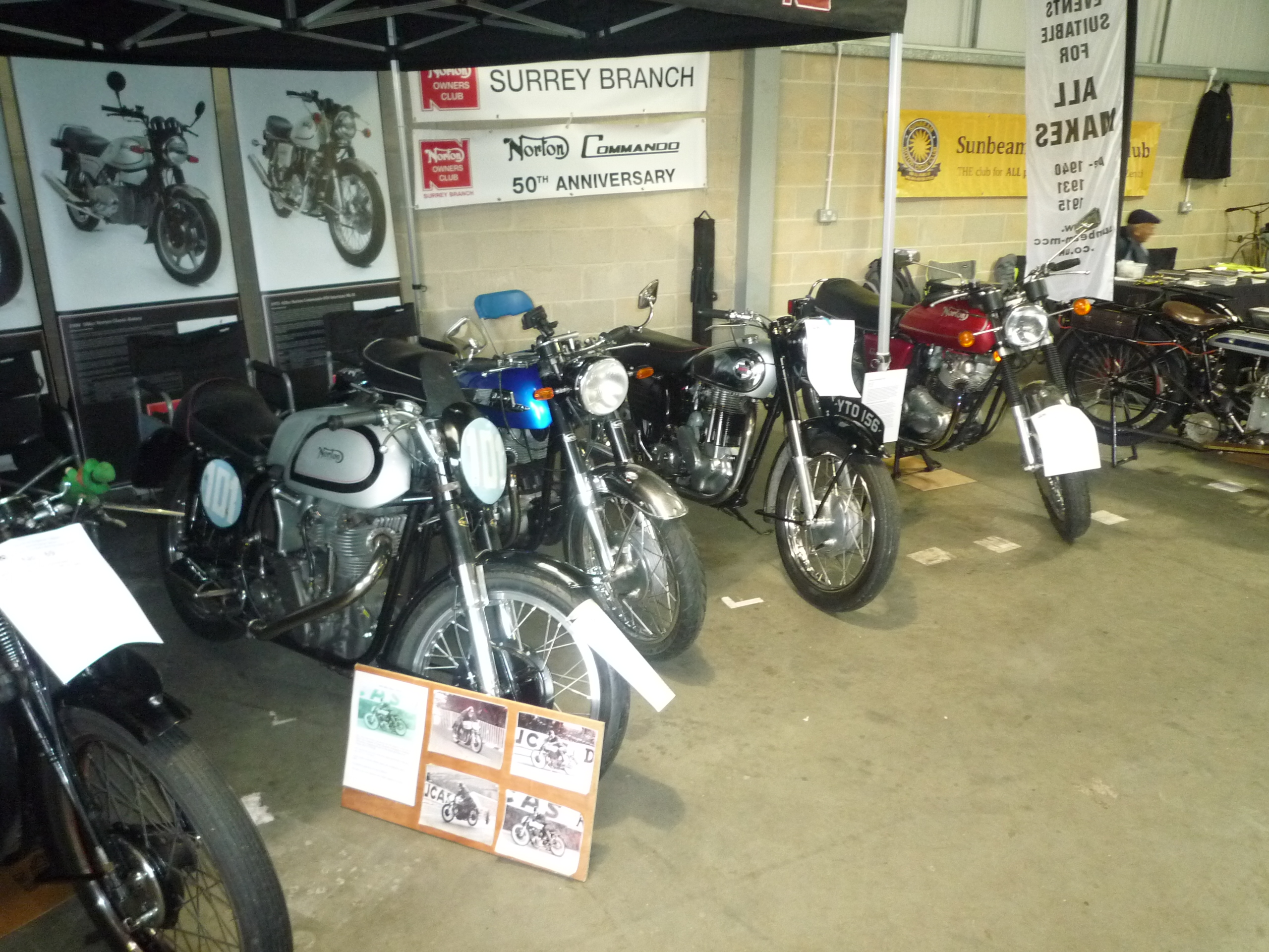 south of england classic bike show ardingly 28 october 2018