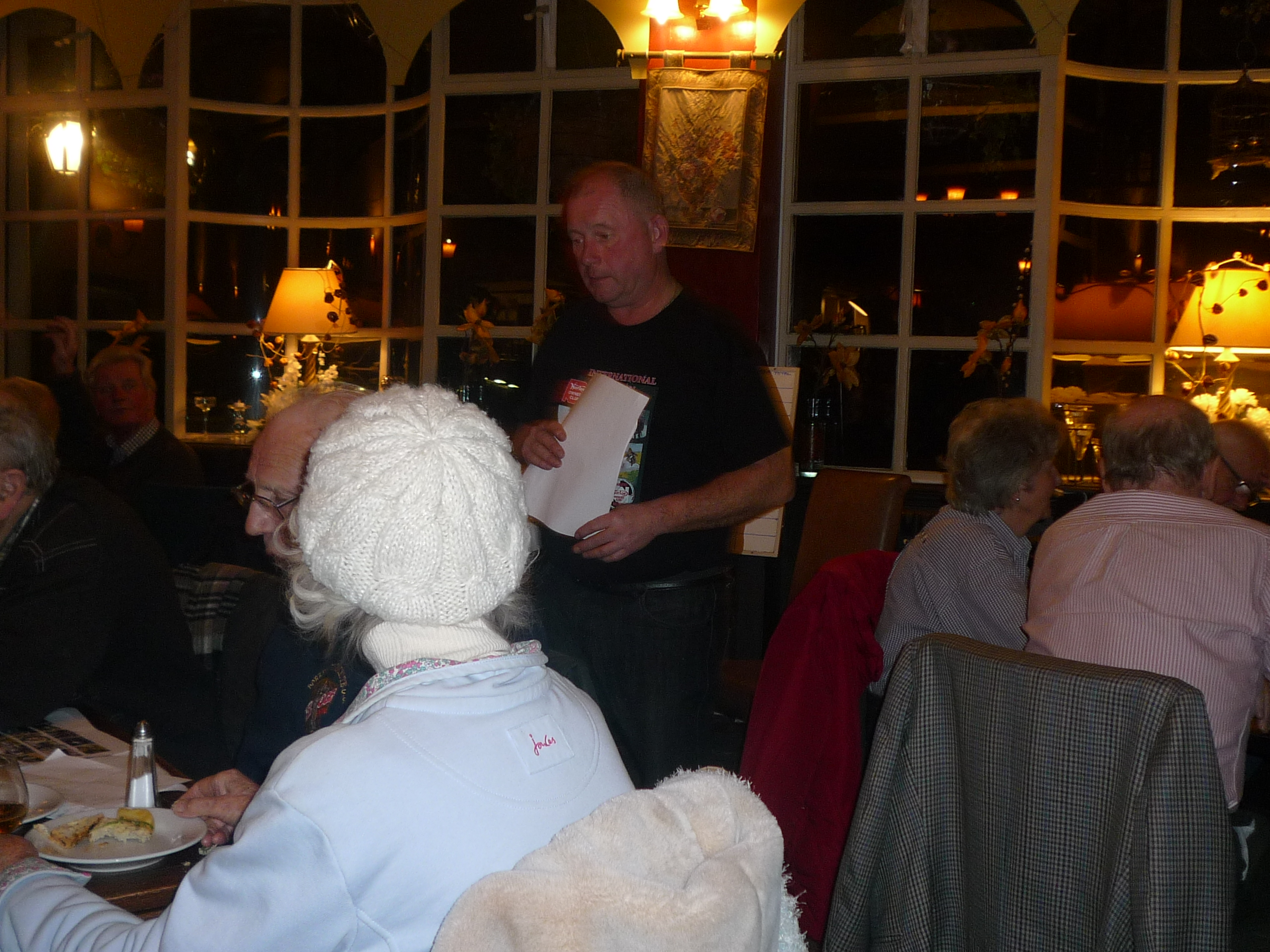 Corner Exhibition Stands Quiz : Surrey section quiz night with the velocette owners club u